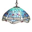 Csillár stílus Tiffany szitakötők