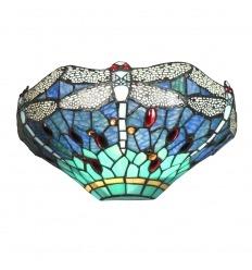 Applique Tiffany avec des libellules