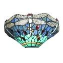 Tiffany Wandlampe mit Libellen