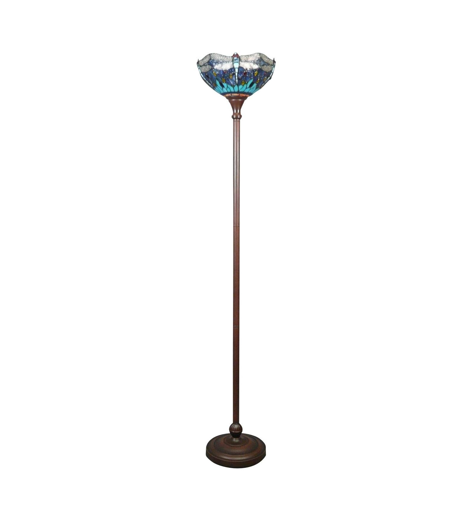 tiffany dragonfly floor lamp. Black Bedroom Furniture Sets. Home Design Ideas