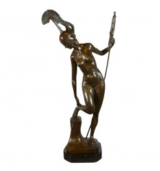 Goddess Athena - bronze Sculpture