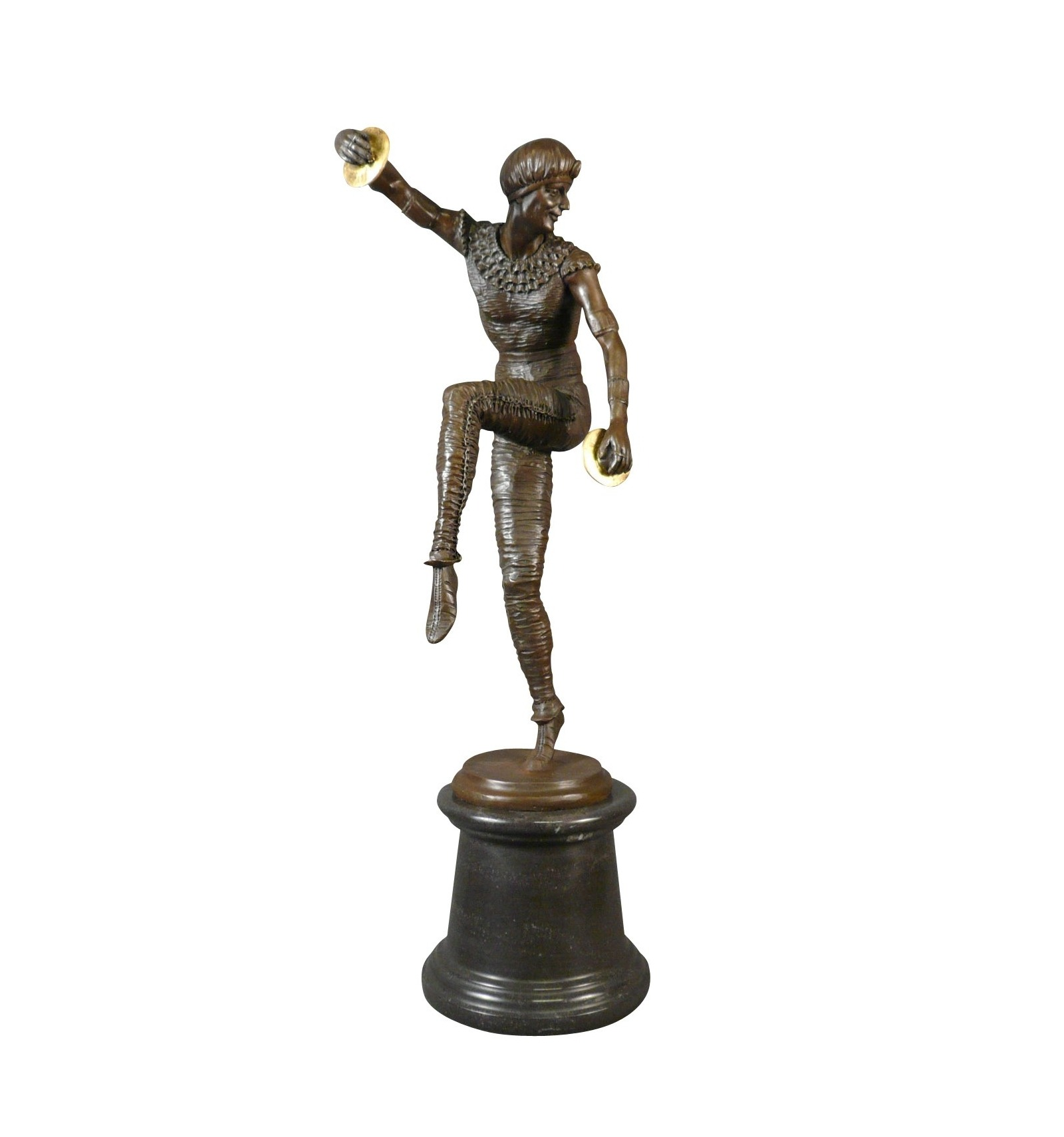 dancer bronze statue art deco furniture and lighting. Black Bedroom Furniture Sets. Home Design Ideas