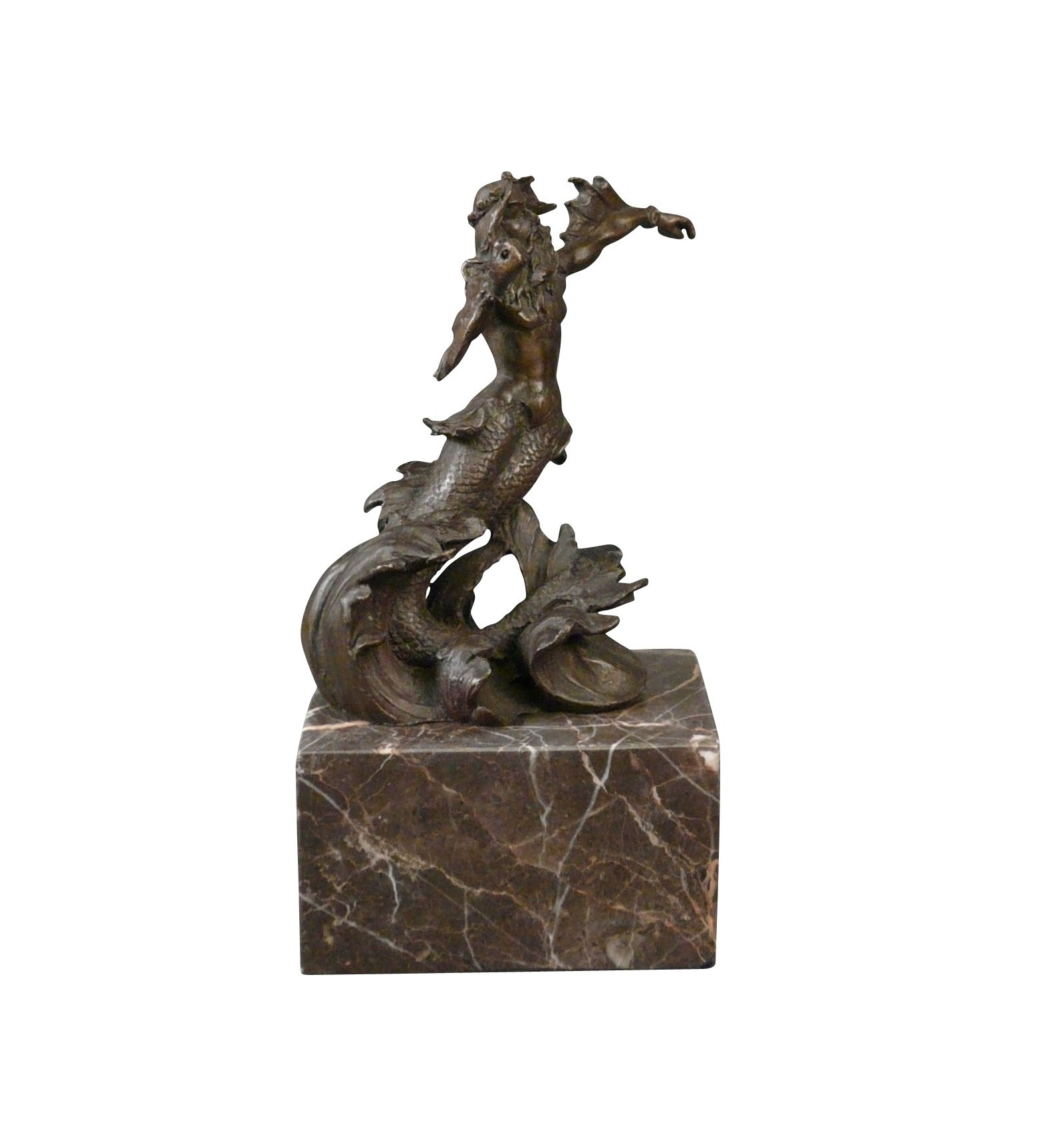 Bronze statue of poseidon neptune greek mythology - Poseidon statue greece ...