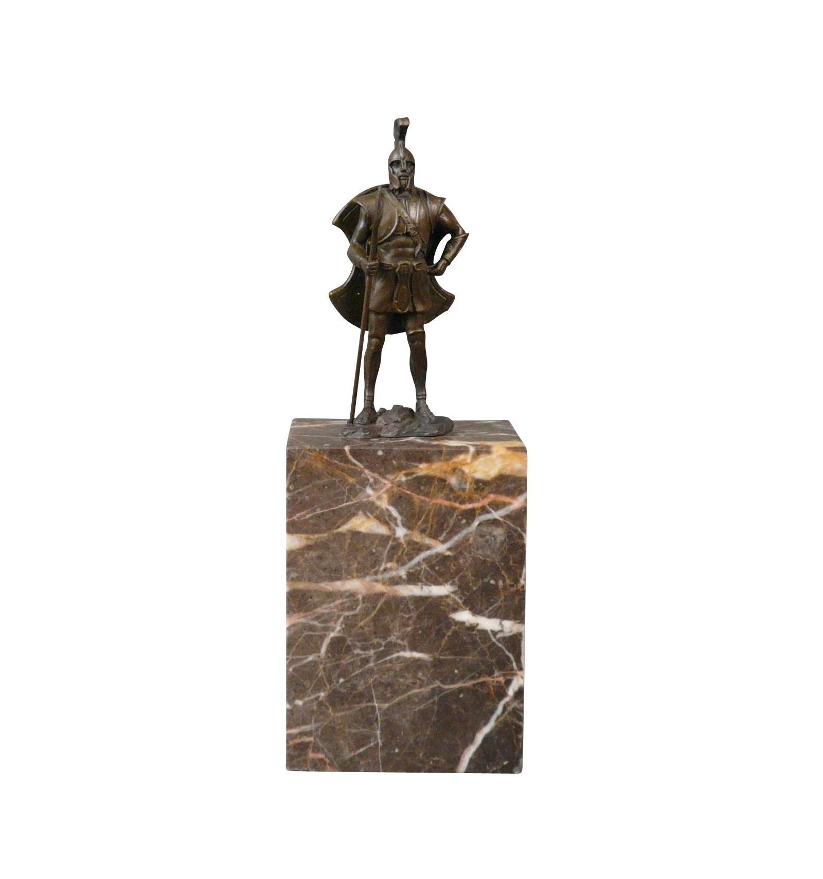 Bronze Statue Of A Centurion A Sculpture Of A Roman Soldier