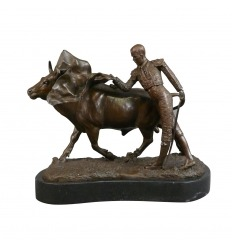 The bullfight - bronze Sculpture