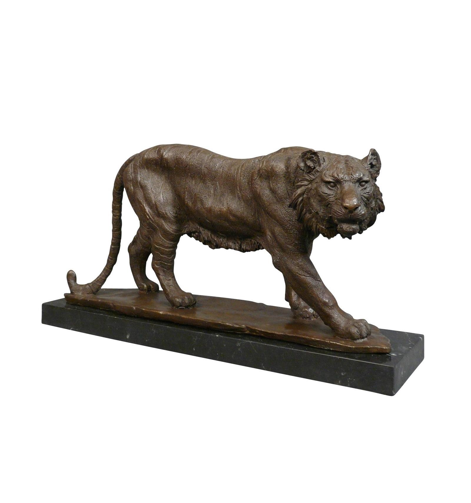 Bronze Statue Tiger