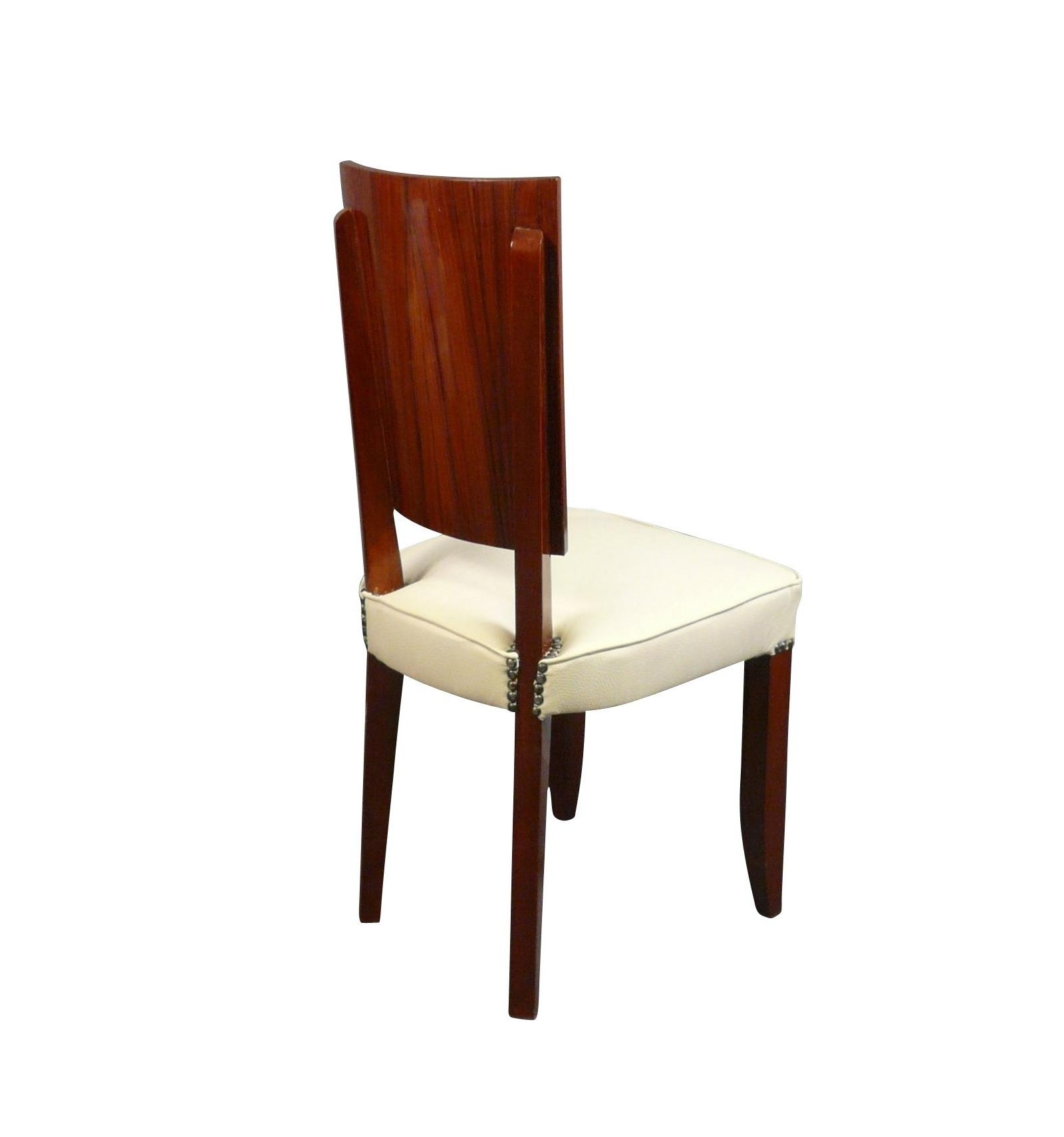 chaise art d co en palissandre mobilier. Black Bedroom Furniture Sets. Home Design Ideas