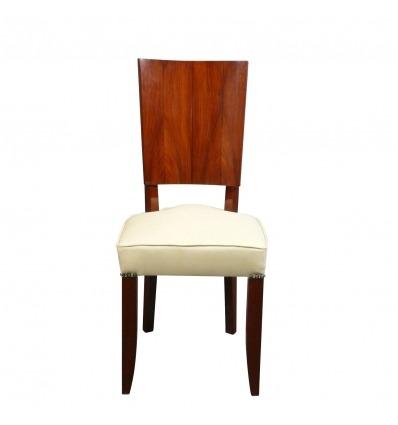 Sedia in stile art deco in legno di palissandro - Mobili -