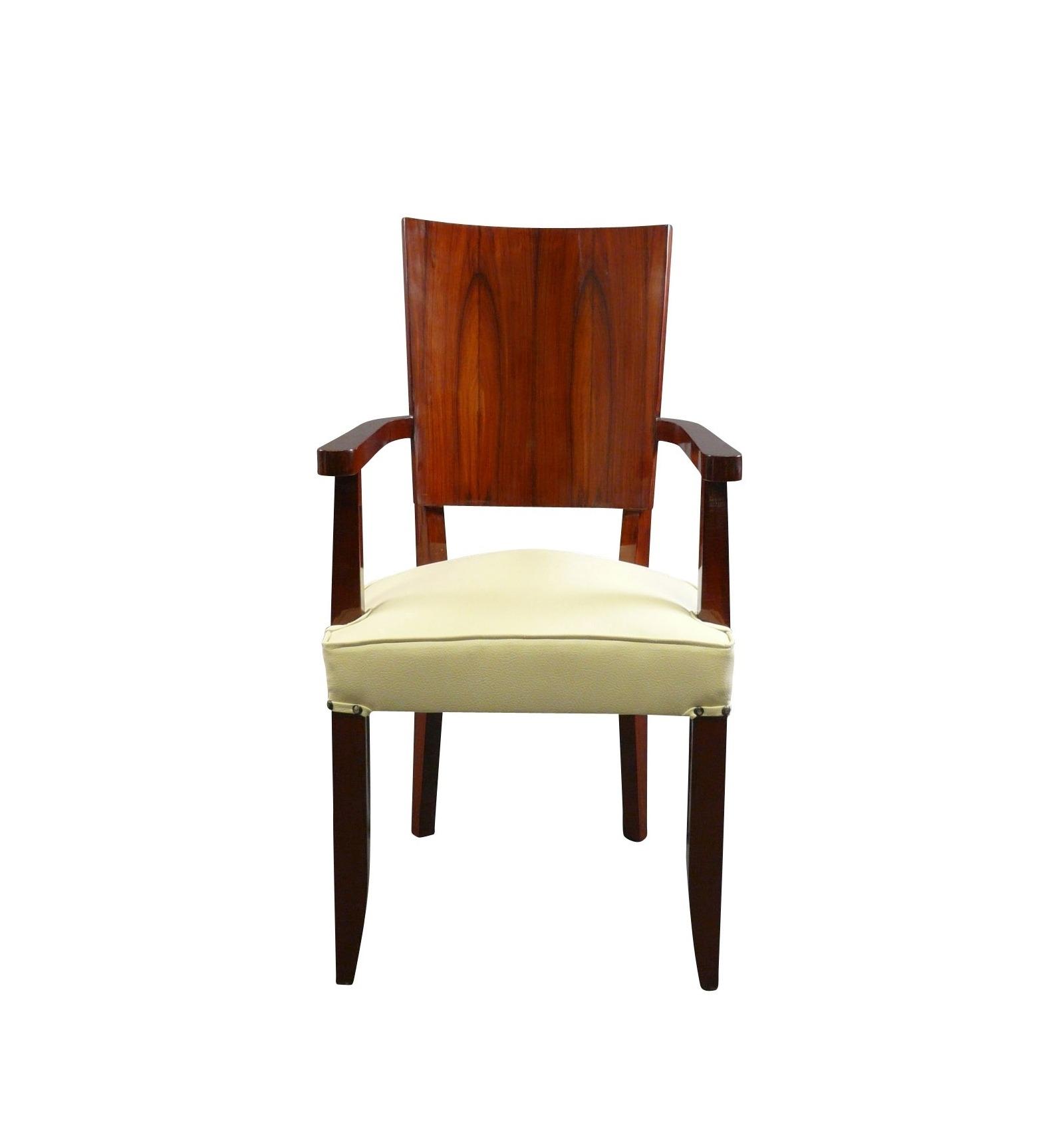 fauteuil art d co d 39 apr s un mod le des ann es 1920 meubles art d co. Black Bedroom Furniture Sets. Home Design Ideas