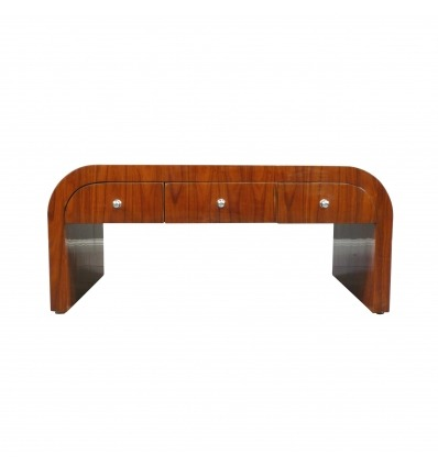 Art Deco Rosewood Coffee Table with Six Drawers - Living Room Furniture