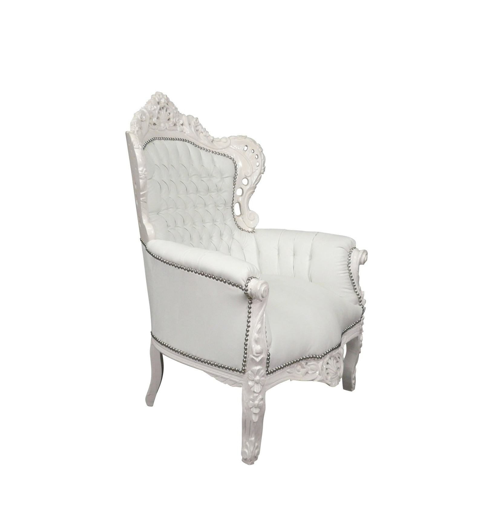 fauteuil baroque blanc meubles pour une deco moderne et l gante. Black Bedroom Furniture Sets. Home Design Ideas