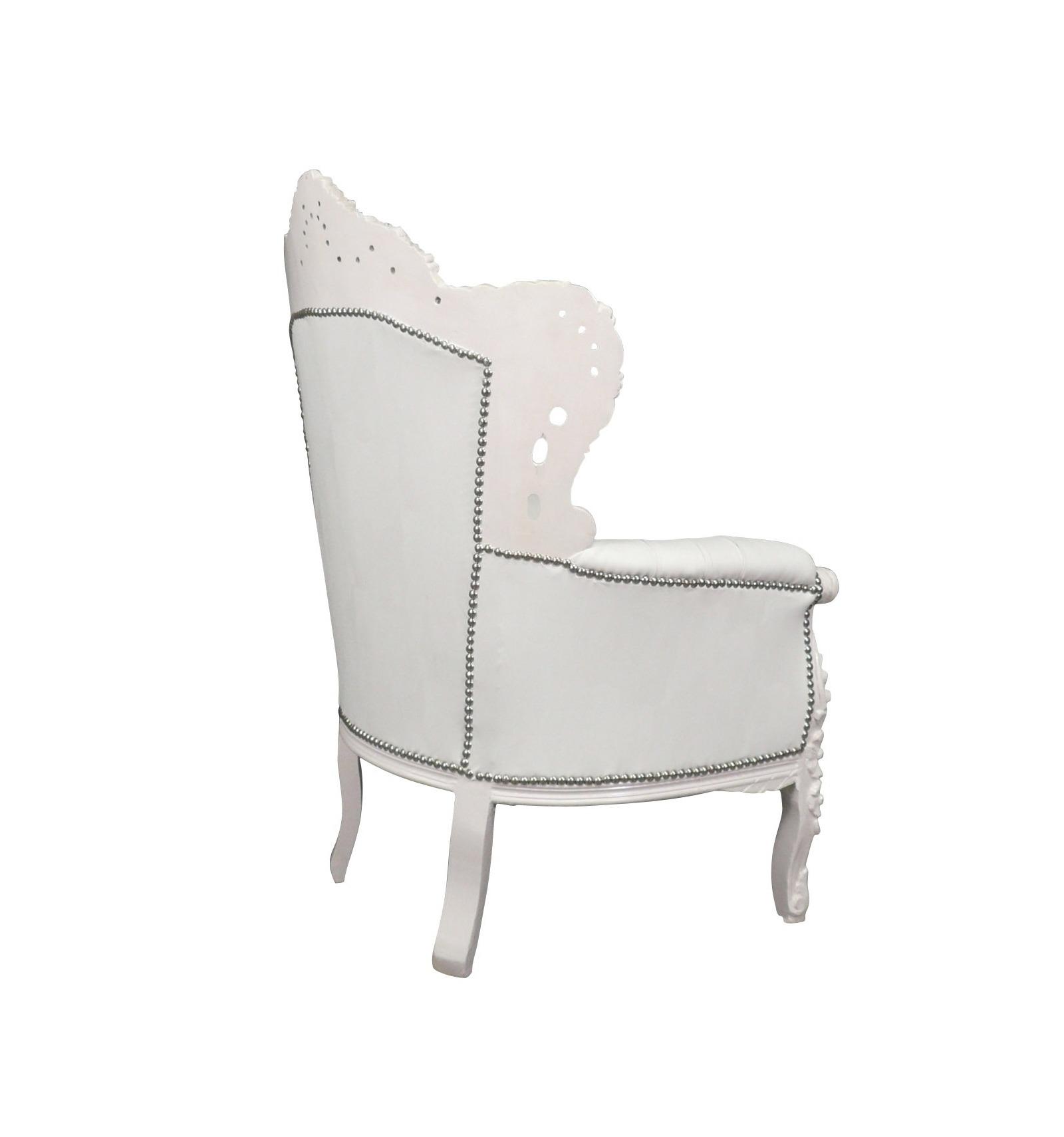 wei barock sessel m bel f r eine moderne und elegante deko. Black Bedroom Furniture Sets. Home Design Ideas