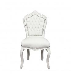 Baroque chair white