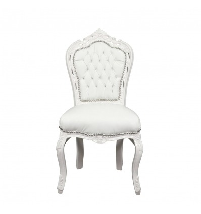 chair baroque white furniture baroque cheap. Black Bedroom Furniture Sets. Home Design Ideas