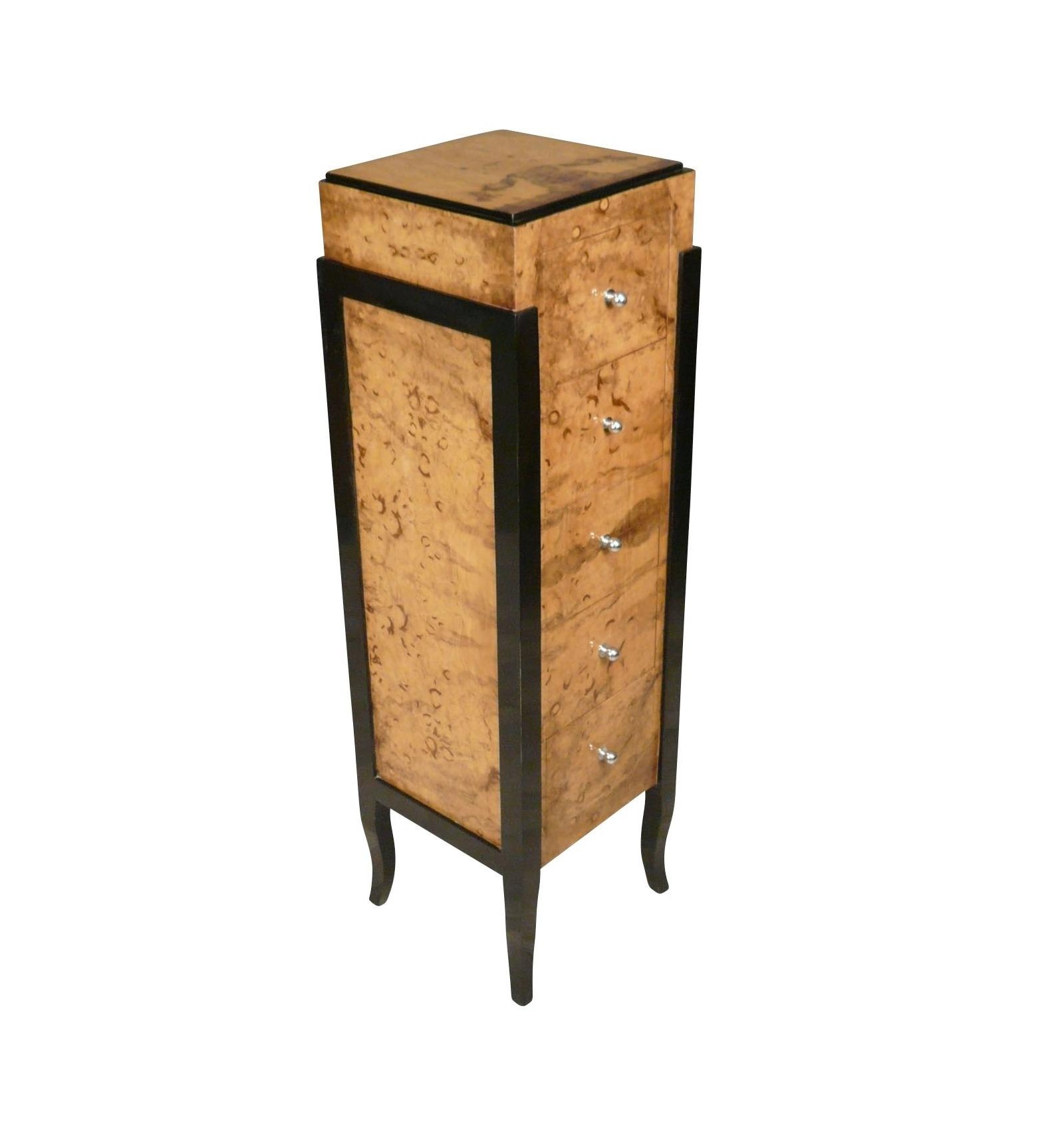 kommode art deco m bellagerung. Black Bedroom Furniture Sets. Home Design Ideas