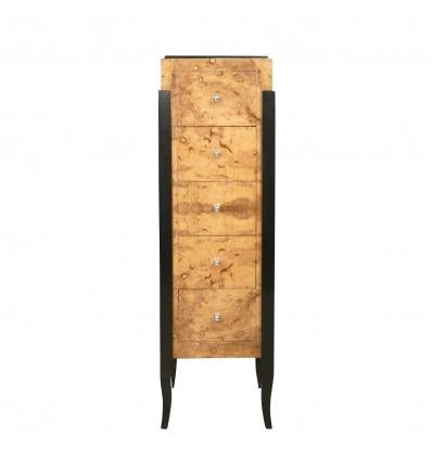 Deco - baú de arte e decoração estilo 1930 Dresser -