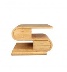 Niedriger Art Deco Tisch