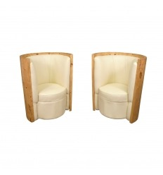 Paar Art Deco Sessel