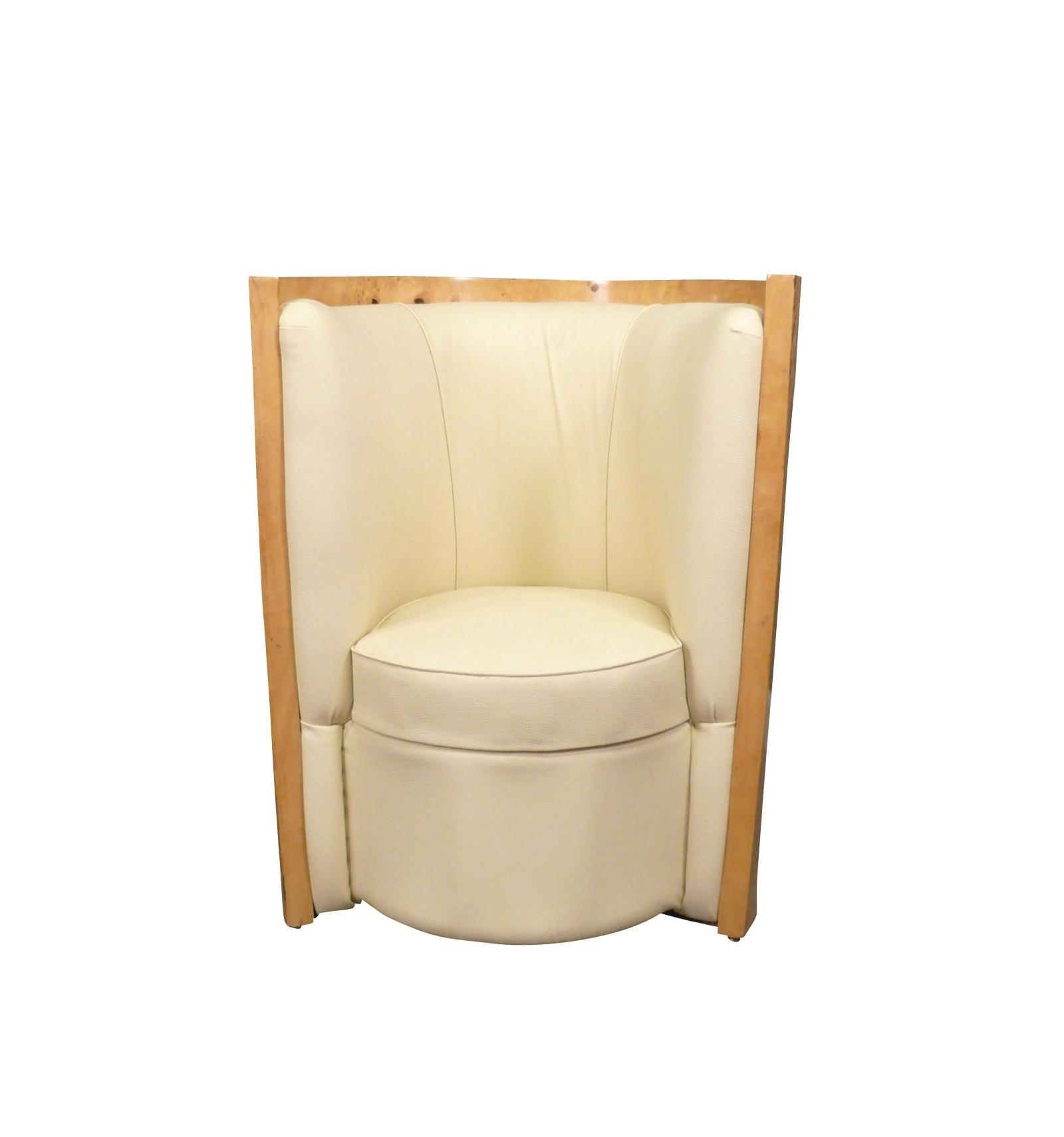 Par de sillones de estilo art deco - Sillones de estilo ...
