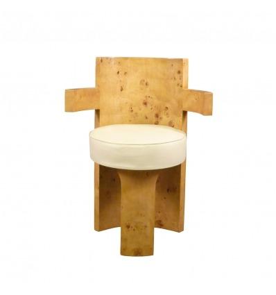 Art deco szék a nagyító Elm