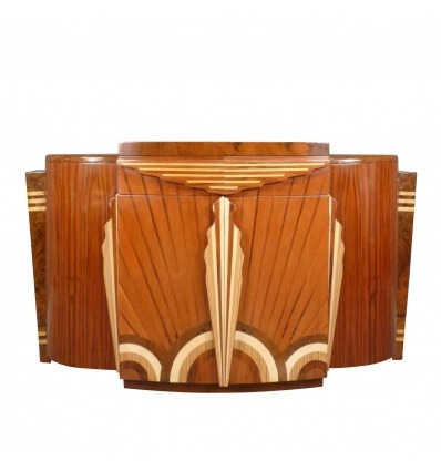 Art Deco storage sideboard