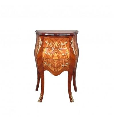 Cómoda curvada Luis XV - Estilo de muebles y art deco