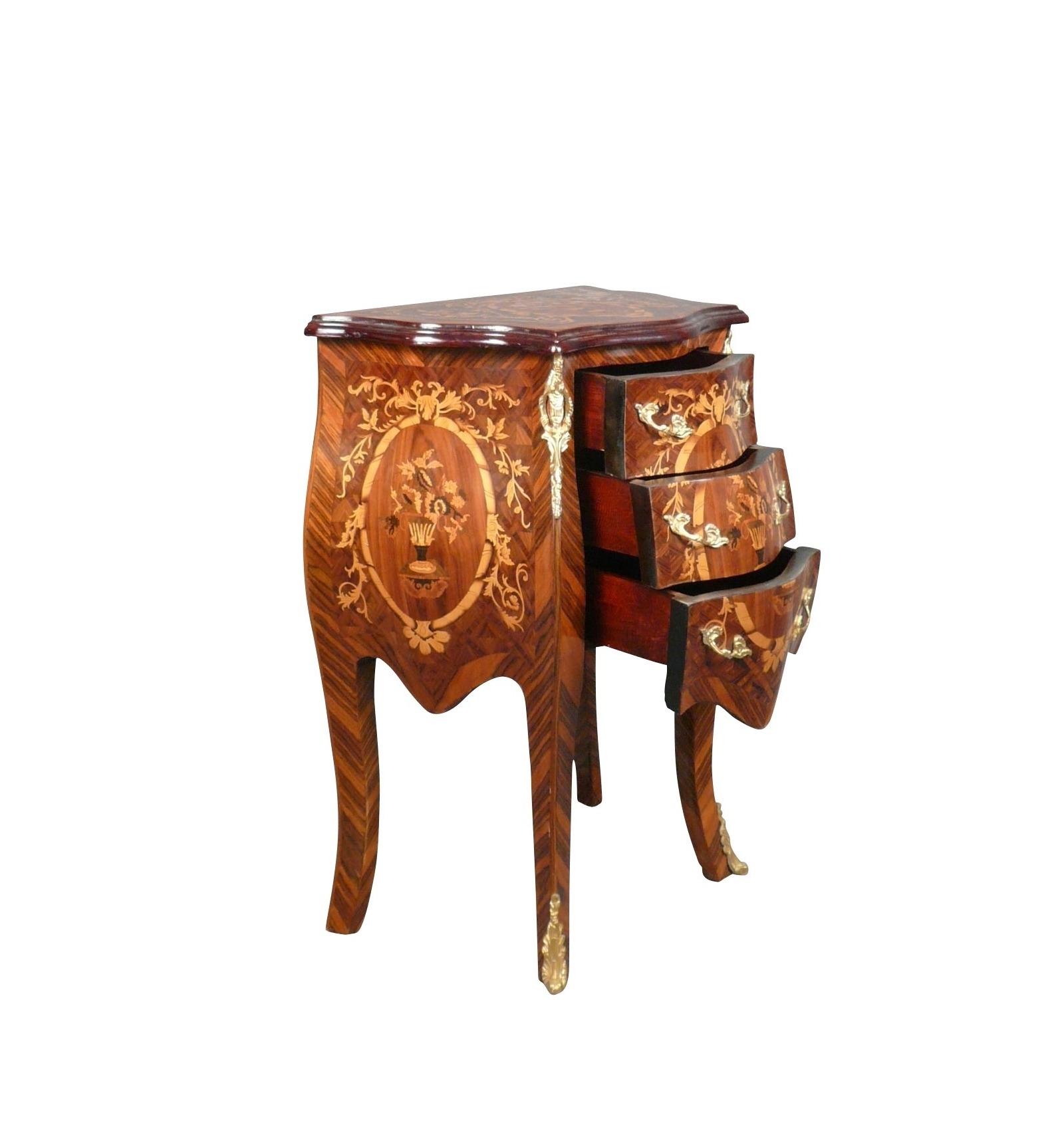 louis xv commode bedside tables and art deco furniture. Black Bedroom Furniture Sets. Home Design Ideas