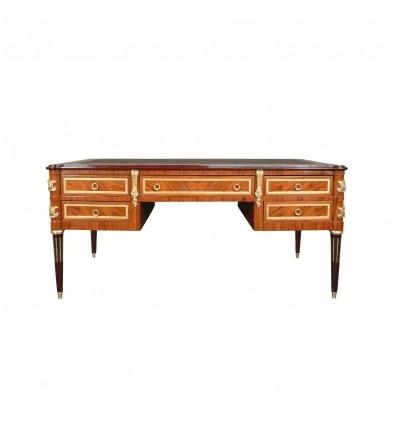 Louis XVI Palisander Schreibtisch - Kommode und Möbel