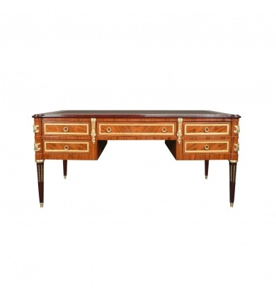 Louis XVI Rosewood Desk - Chest of drawers and furniture