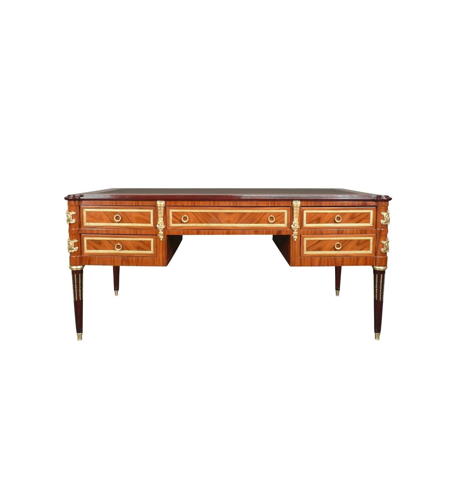 bureau louis xvi en palissandre commode et mobilier. Black Bedroom Furniture Sets. Home Design Ideas
