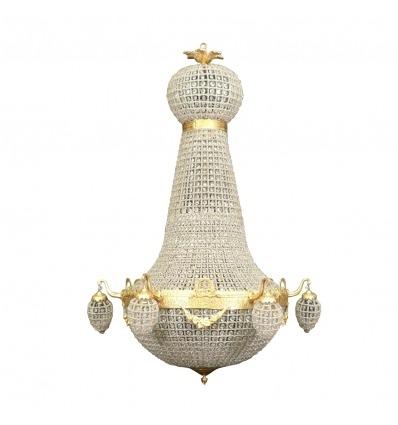 Empire balloon chandelier - 150 cm - Bronze wall lamp