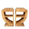 Pair of art deco bedside tables - furniture -