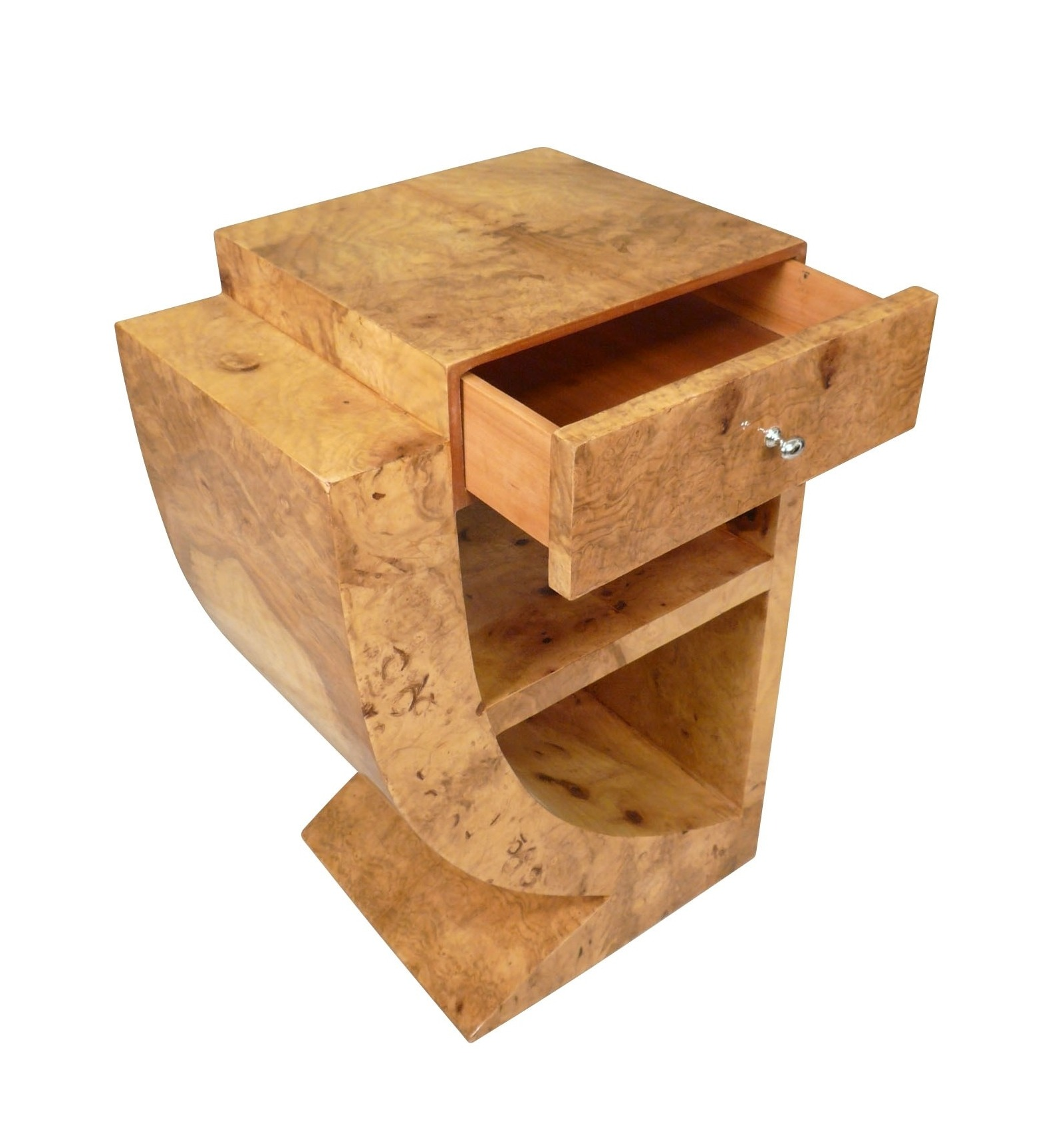 paire de chevets art d co meubles. Black Bedroom Furniture Sets. Home Design Ideas