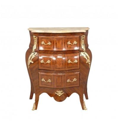 Piccola cassettiera Mobili in stile Luigi XV -