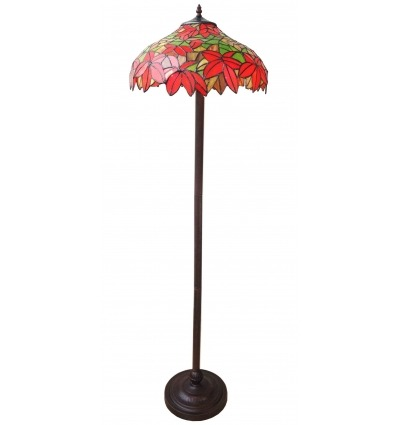 Tiffany floor lamp of the Madrid series - Art deco lighting