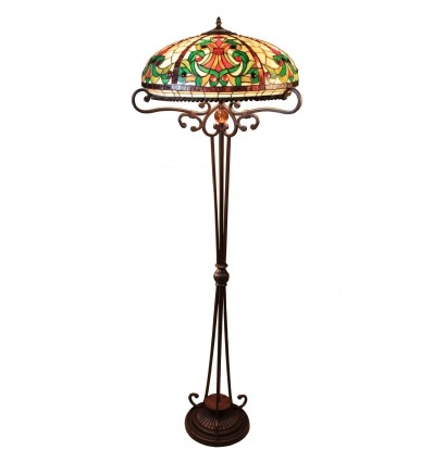 Lámpara de pie Tiffany - Serie Indiana - Iluminación