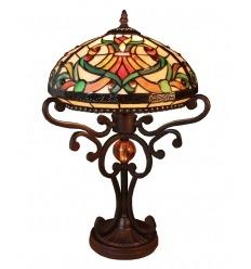 Lampe Tiffany - Reihe Indiana - H: 56 cm