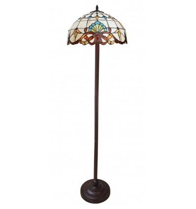 Lampada Da Terra Tiffany - Parigi Serie -