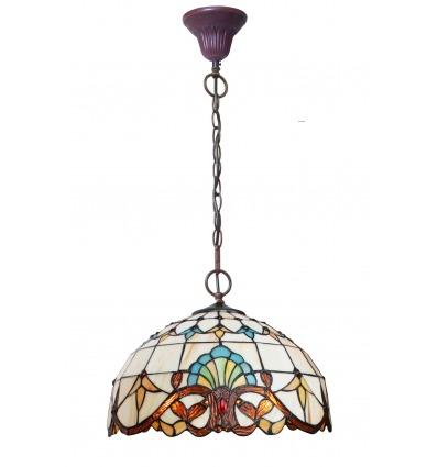 Lampadario Tiffany - Parigi - Serie Della Lampada