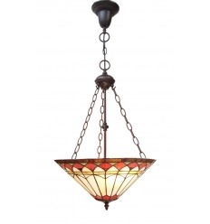 Lámpara de techo Tiffany Roma