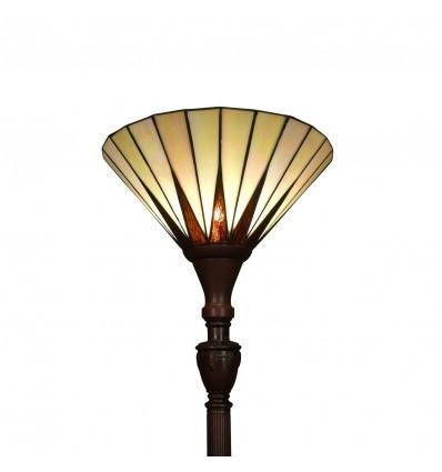 Golv lampa Tiffany - serien Memphis - Art deco -