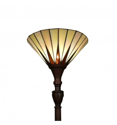 Lámpara de pie Tiffany - Serie Memphis - Art Deco -