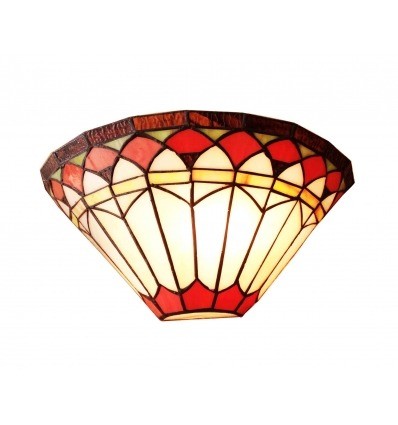 Tiffany wandlamp - serie Rome
