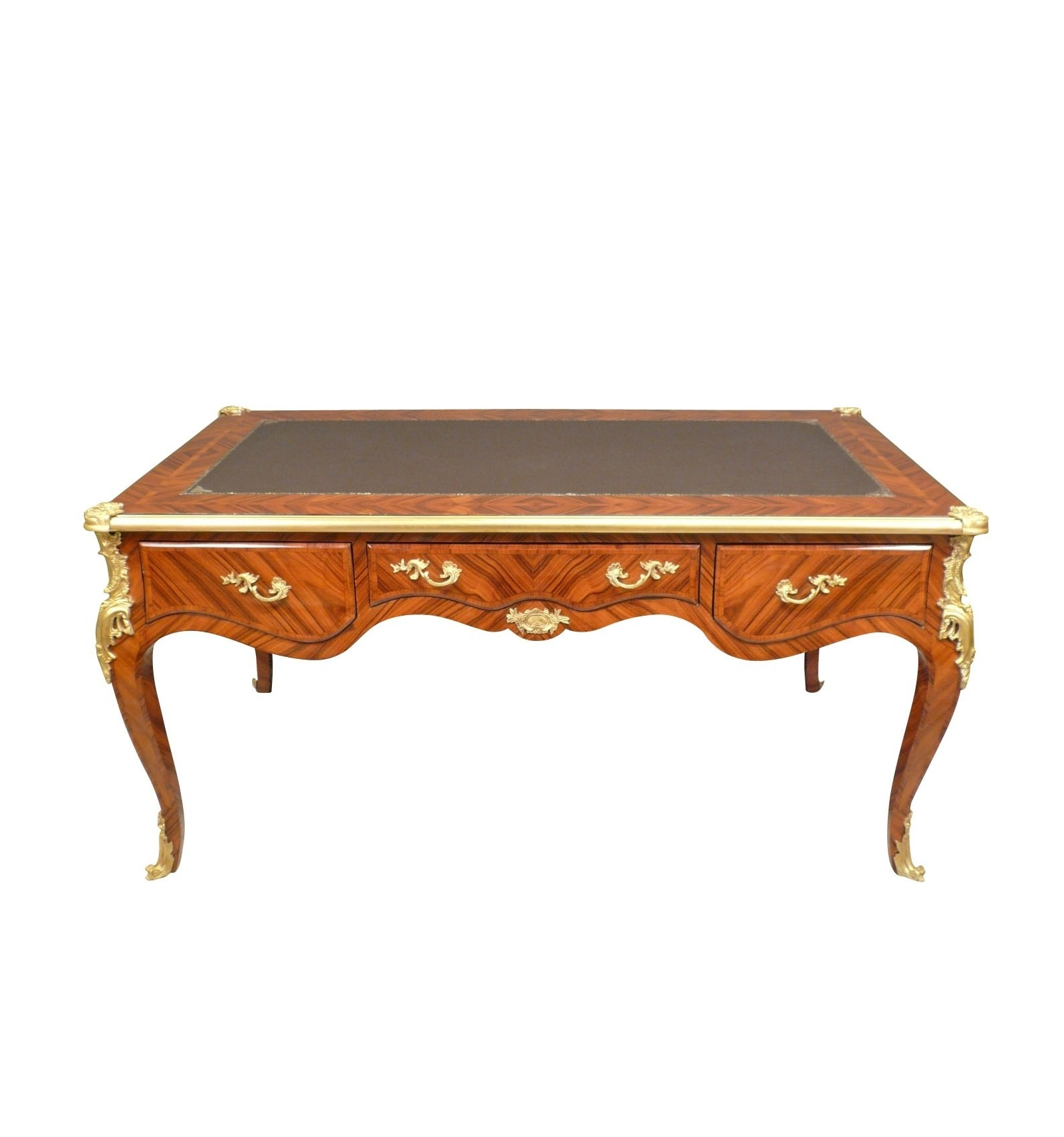 Louis XV desk in rosewood furniture style