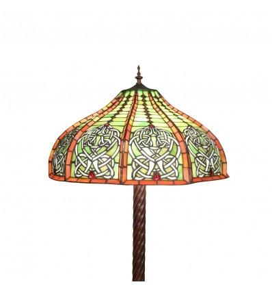 Lampadaire Tiffany - Reproduction d'une lampe originale -