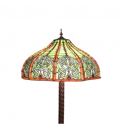 Tiffany floor lamp - Reproduction of an original lamp -