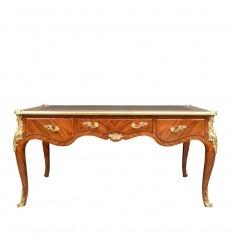 Louis XV stůl v barvě palisandru