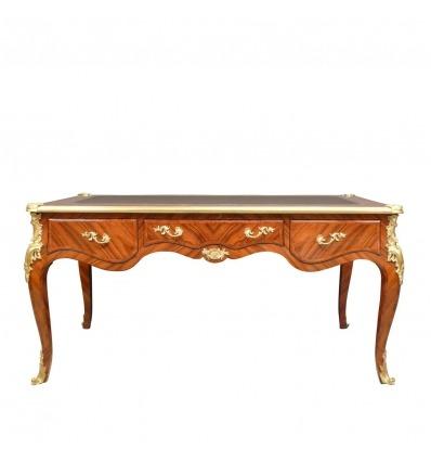 Louis XV desk in rosewood
