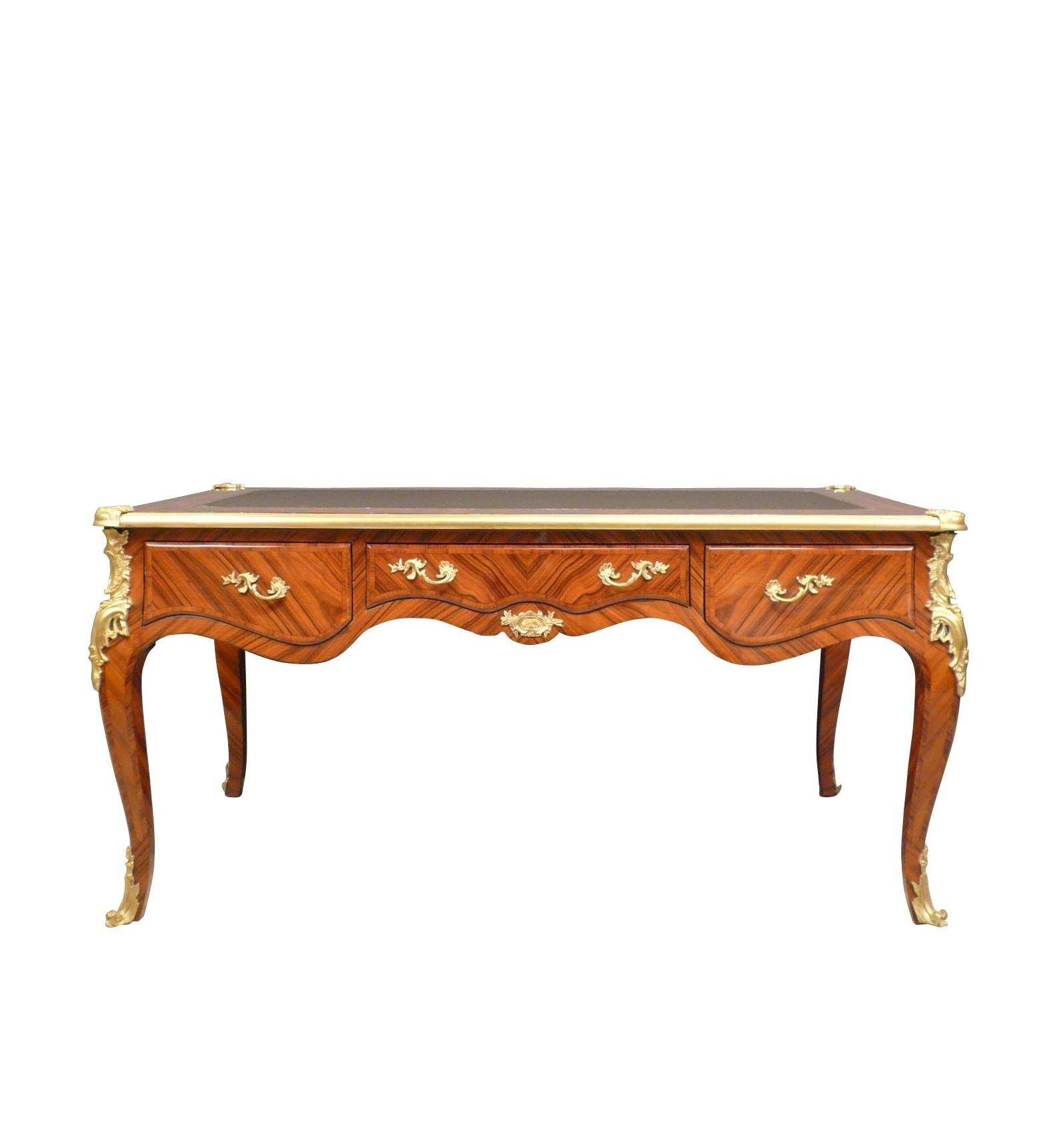 bureau louis xv en palissandre meubles de style. Black Bedroom Furniture Sets. Home Design Ideas