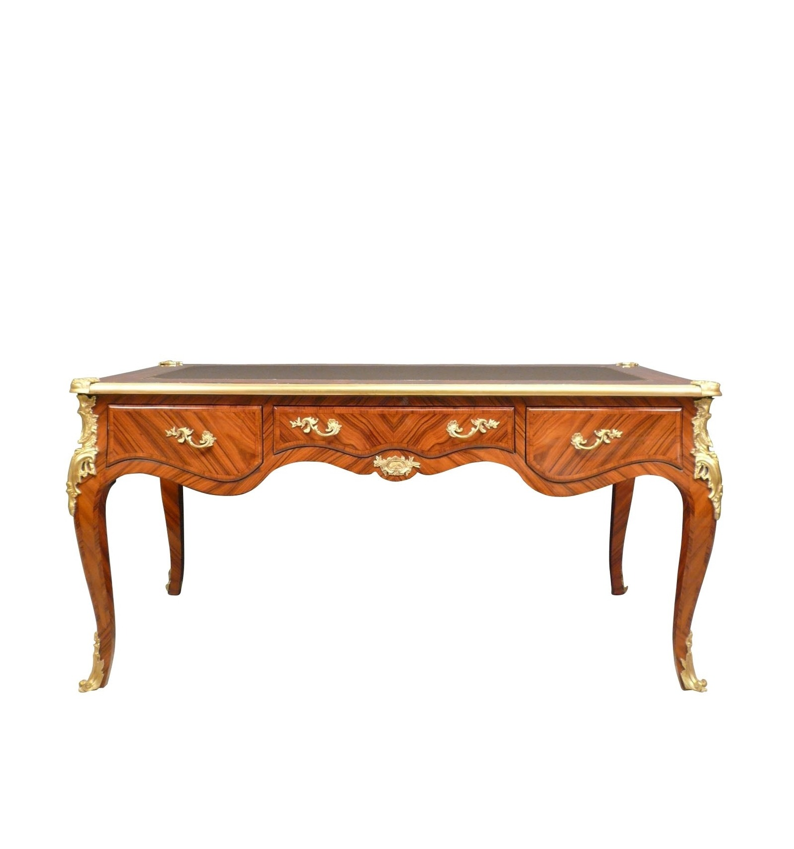 bureau louis xv in rosewood furniture style. Black Bedroom Furniture Sets. Home Design Ideas